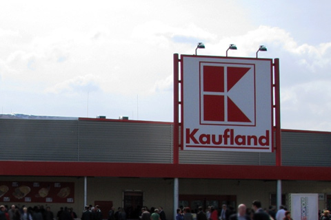 Project for bMS in Kaufland store