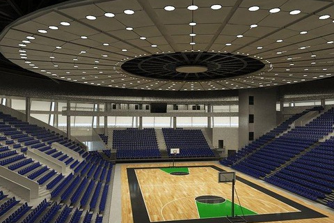 Building Management system in sports hall, Russe city